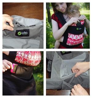 Карман рюкзака Boba
