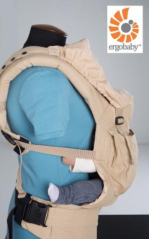 Крепление капюшона Ergo Baby Carrier