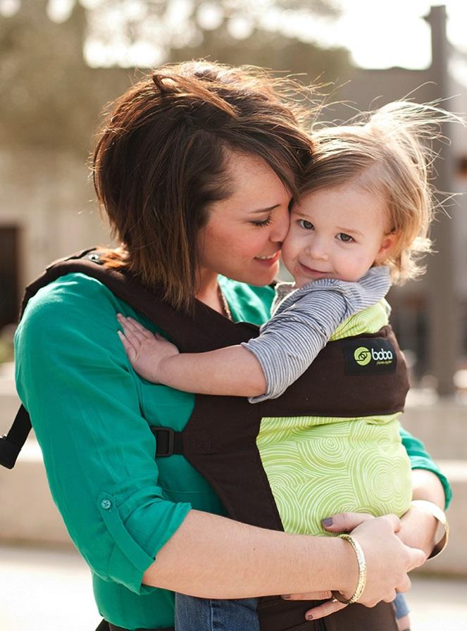 Безопасное ношение ребёнка в эрго-рюкзаке Боба (Boba Baby Carrier 3G)