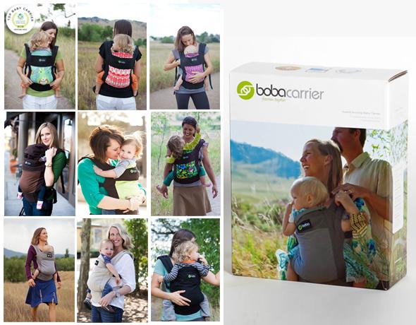 Упаковка и варианты расцветки рюкзаков от бренда Boba Family