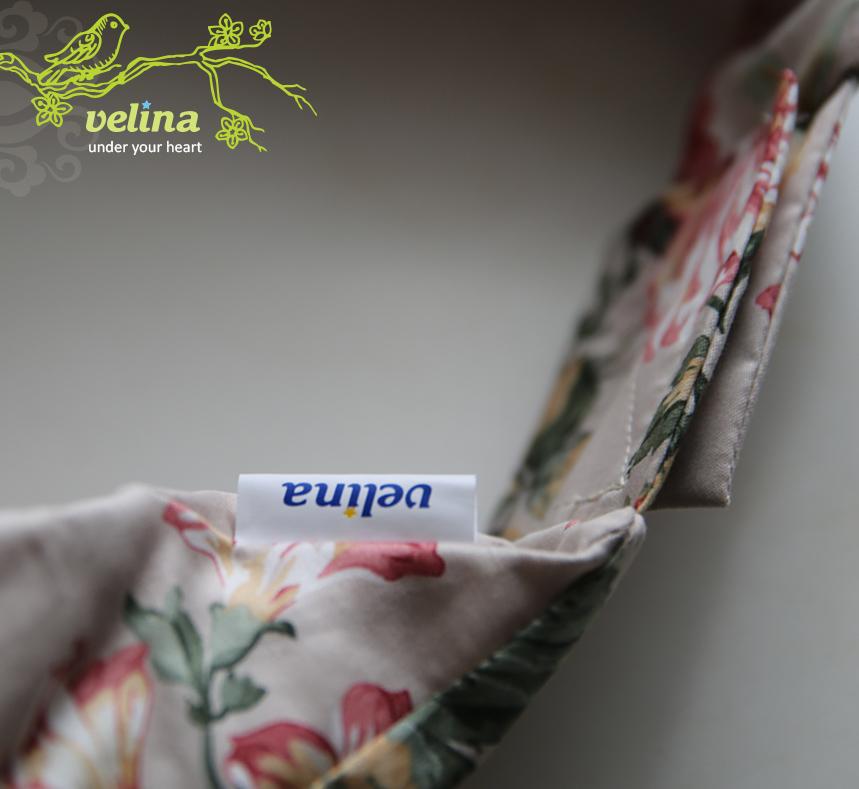Размер внешней наволочки подушки для кормления Velina