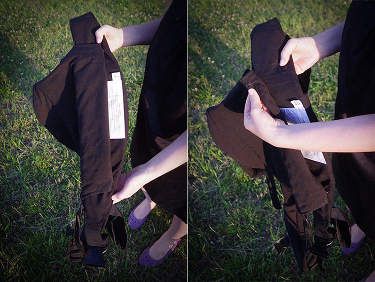 Регулируемая спинка эрго-рюкзака Боба (Boba Baby Carrier 3G)